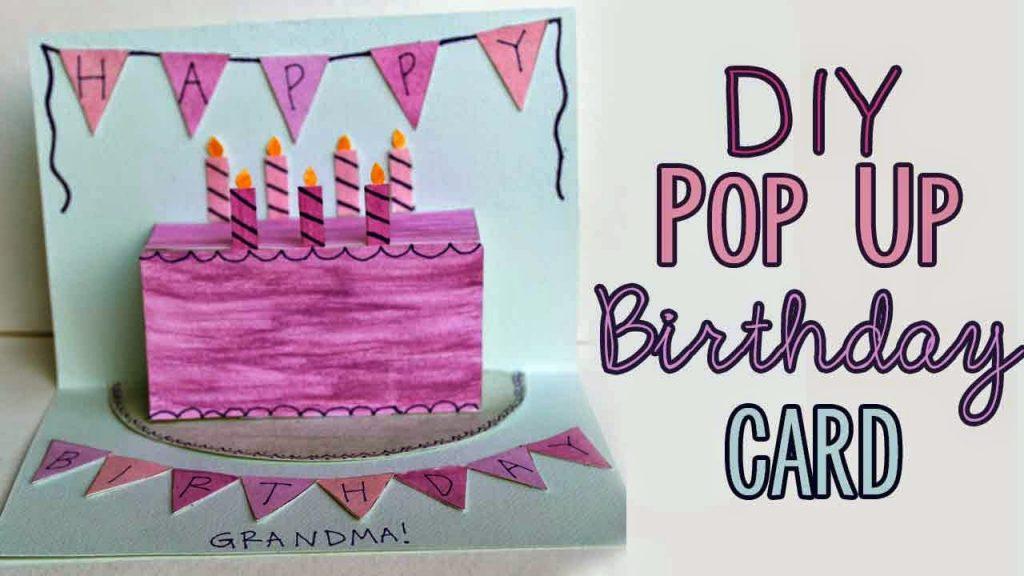 Stupendous Pop Up Birthday Cake Card Tutorial Essyjae Personalised Birthday Cards Petedlily Jamesorg