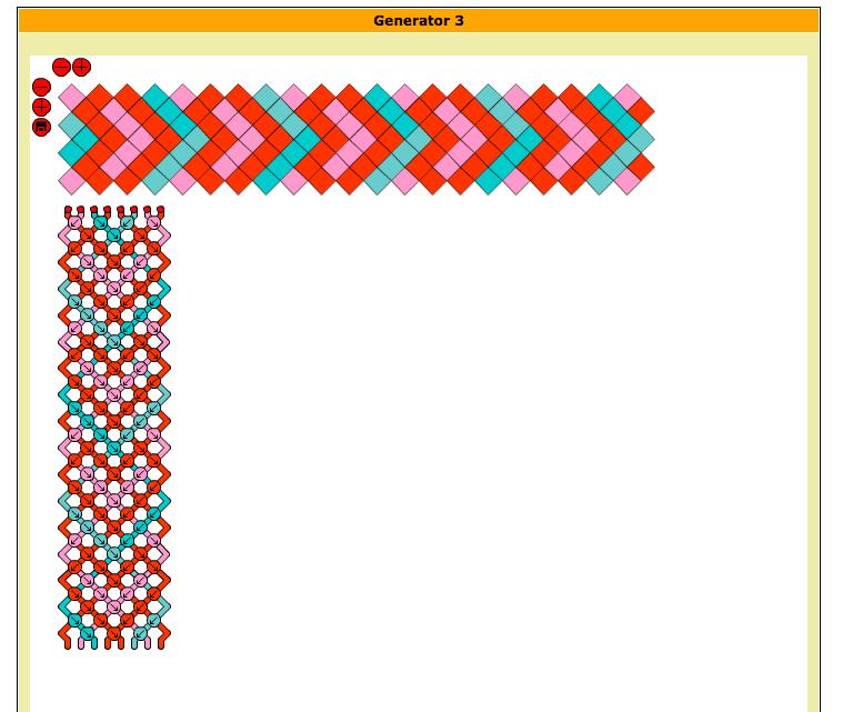 friendship bracelet pattern maker program