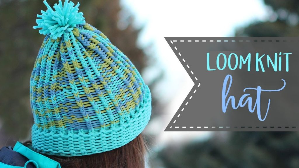 Easy Loom Knit Hat Tutorial Knit Purl Stitches Essyjae