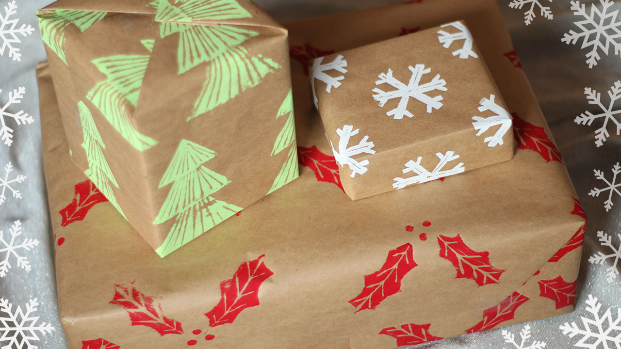 Gift wrapping archives essyjae diy custom wrapping paper diy stamps solutioingenieria Images