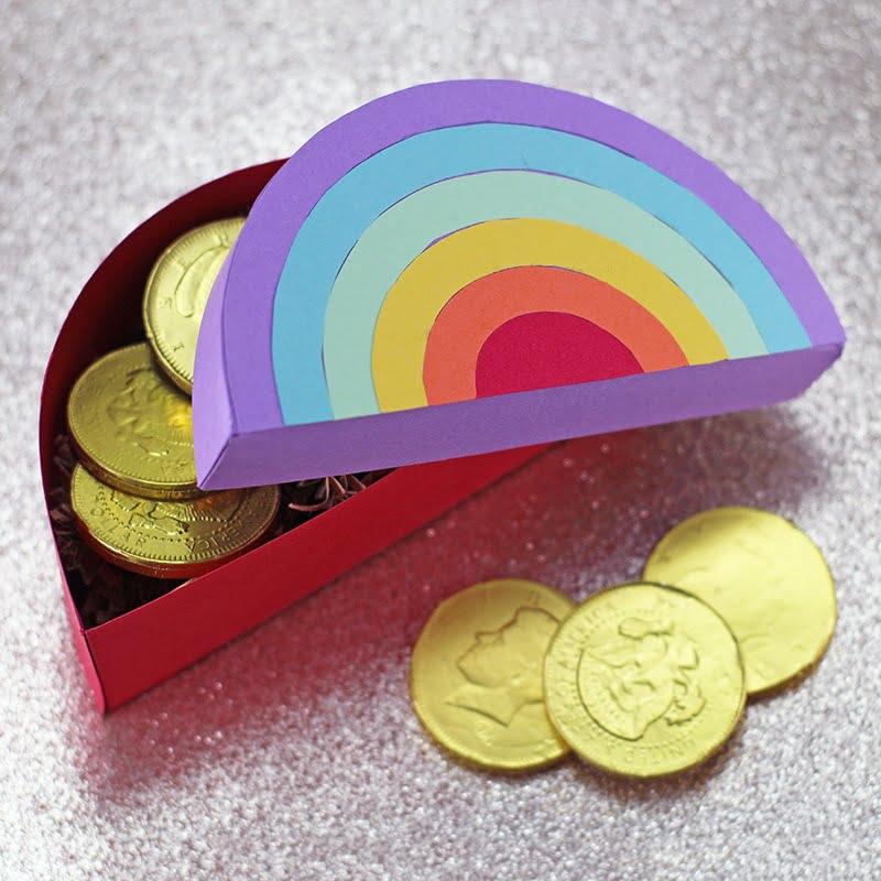 Rainbow gift box